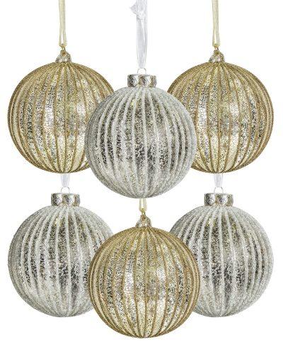 4″ Old World Splendor Ornament Set by Treetopia