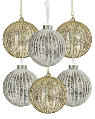 5″ Old World Splendor Ornament Set by Treetopia