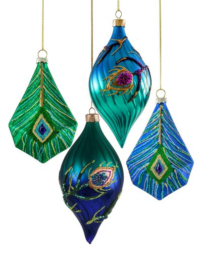 Starry Night Satin Dream Ornaments by Treetopia