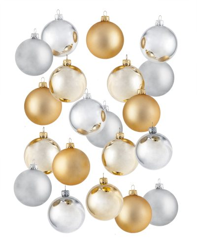 Simply Regal Shatterproof Ornament Set by Treetopia