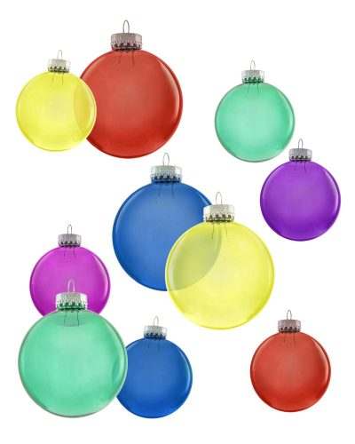 All Hue Need Multicolored Ornament Set by Treetopia