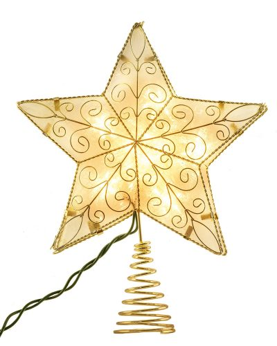 Starlight Glow Christmas Tree Topper by Treetopia
