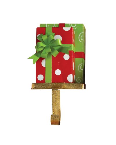 Swirls 'n' Dots Christmas Presents Stocking Holder by Treetopia