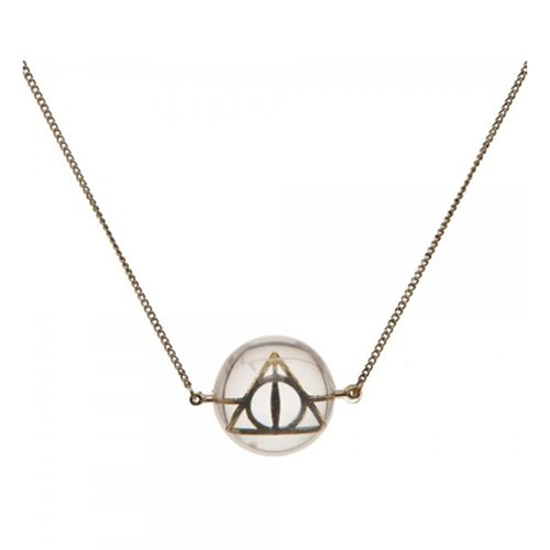 Harry Potter Deathly Hallows Acrylic Bubble Necklace