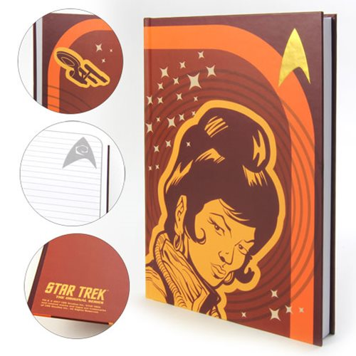 Star Trek: TOS Uhura Journal Hardcover Faux Leather Journal