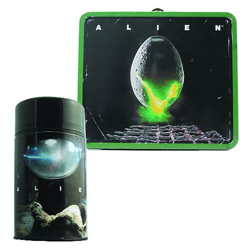 Alien Egg Distressed Lunch Box with Thermos Exclusive