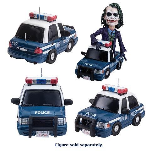 Batman The Dark Knight Police Car Deformed Vehicle, Not Mint
