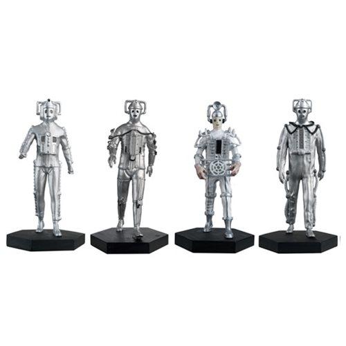 Doctor Who Evolution of the Cybermen Set