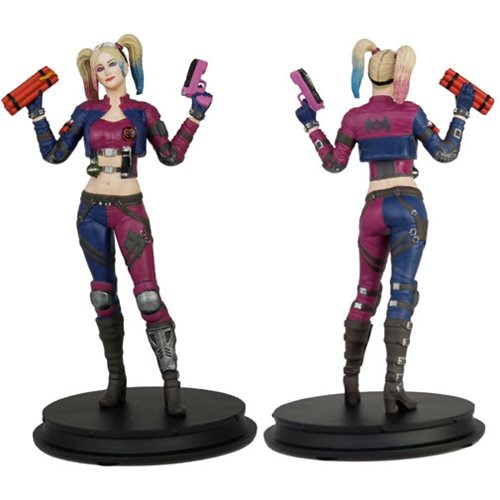DC Injustice Harley Quinn Pink Costume Deluxe Statue – PX