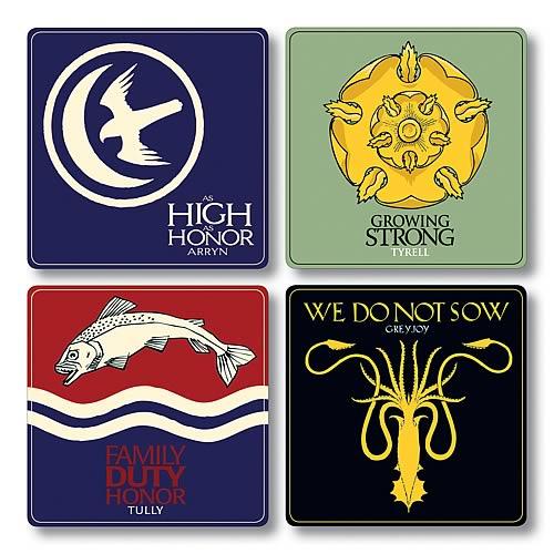 Game of Thrones Season 2 Coaster Set