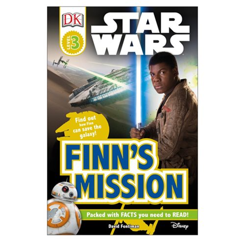 Star Wars: Finn's Mission DK Readers 3 Hardcover Book