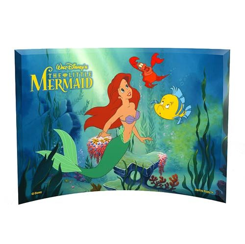 The Little Mermaid Curved Glass StarFire Print