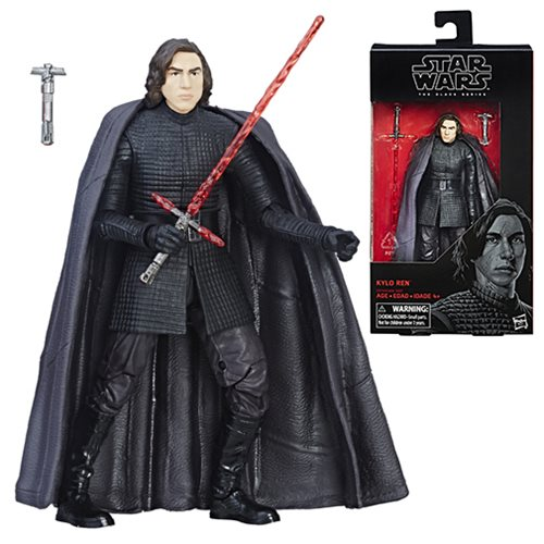 Star Wars The Last Jedi Kylo Ren Figure, Not Mint
