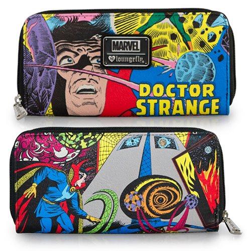 Doctor Strange Print Zip-Around Wallet