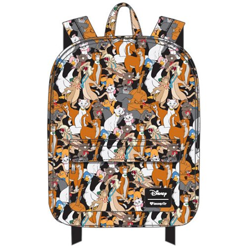 The Aristocats Character Print Nylon Backpack
