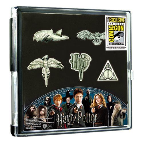 Harry Potter Pewter Pin 5-Pack – SDCC 2017 Exclusive