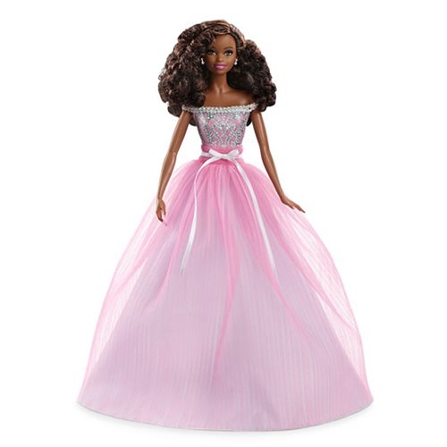Barbie Birthday Wishes Doll (African American), Not Mint