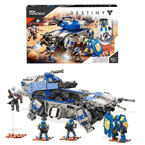 Mega Construx Destiny Goliath Tank Strike Playset