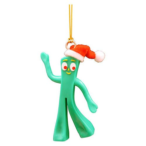 Gumby Figural Christmas Tree Dangler Ornament