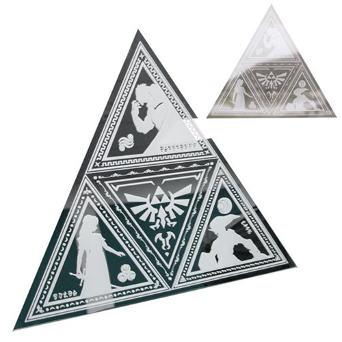 The Legend of Zelda Tri-Force Mirror, Not Mint