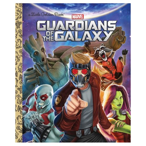 Marvel Guardians of the Galaxy Little Golden Book