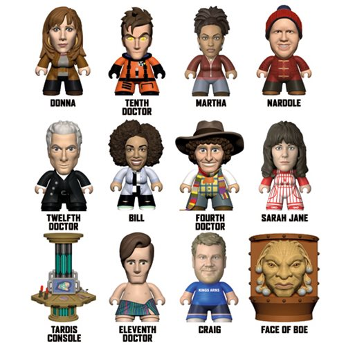 Doctor Who Partners in Time Titans Mini-Figure Display Case