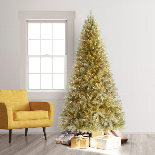 9′ Prelit All That Glitters Artificial Christmas Tree with Clear Lights by Treetopia