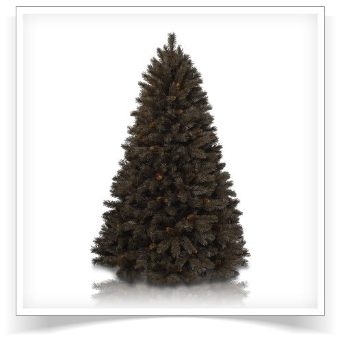 6′ Unlit Chocolate Truffle Artificial Christmas Tree by Treetopia