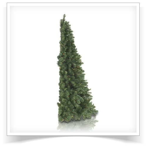 7′ Prelit My Better Half Artificial Christmas Tree with Multi Lights by Treetopia
