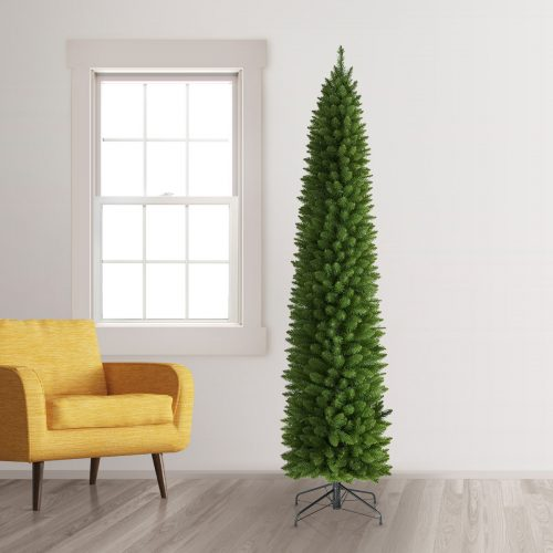 7.5′ Unlit No. 2 Pencil Artificial Christmas Tree by Treetopia