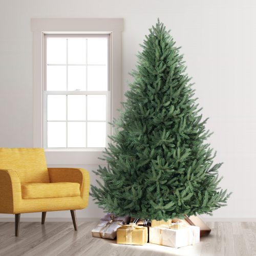 7.5′ Unlit Oh Christmas Artificial Christmas Tree by Treetopia