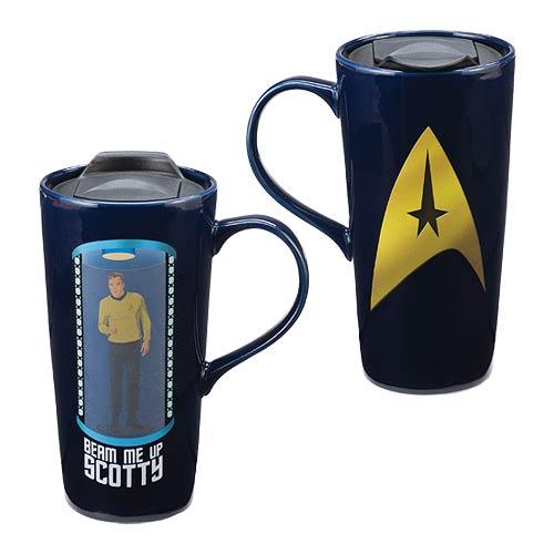 Star Trek 20oz Ceramic Heat Change Travel Mug
