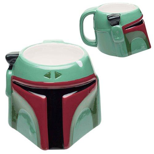Star Wars Boba Fett Ceramic Molded Mug