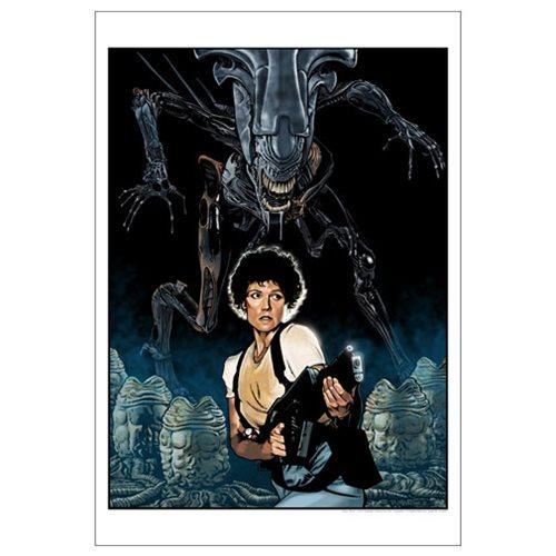 Aliens: Nemesis by Randy Martinez Paper Giclee Art Print