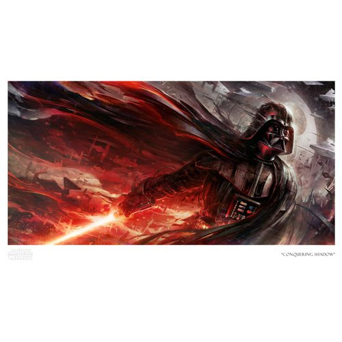 Star Wars Conquering Shadow Paper Giclee Art Print