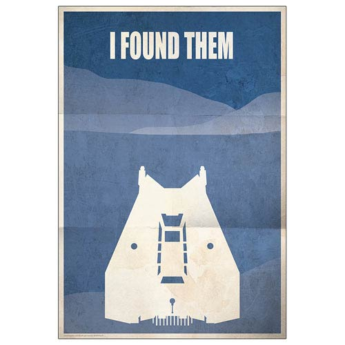 Star Wars Planet Hoth I Found Them Paper Giclee Print