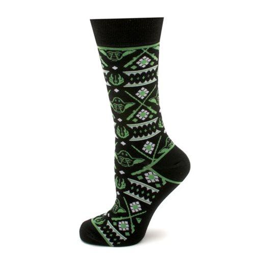 Star Wars Yoda Limited Edition Holiday Socks