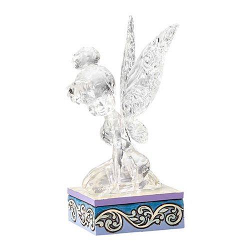 Disney Traditions Ice Bright Tinker Bell Illuminated Statue
