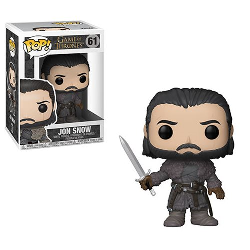 Game of Thrones Jon Snow Beyond the Wall Pop! Vinyl Figure