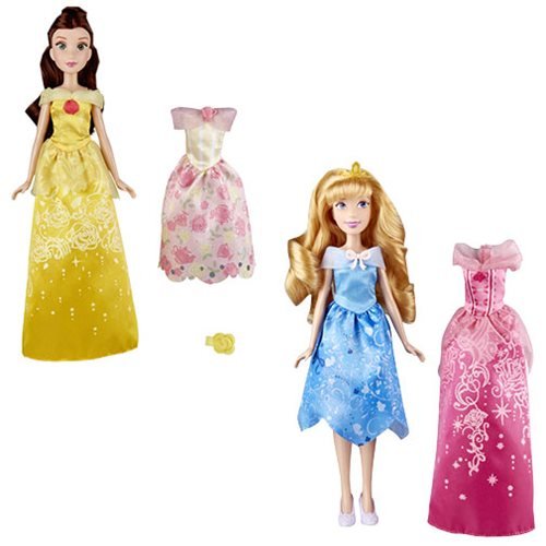 Disney Princess Doll with Extra Fashions Wave 1 Case