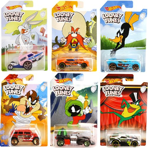 Hot Wheels Looney Tunes Vehicles Case