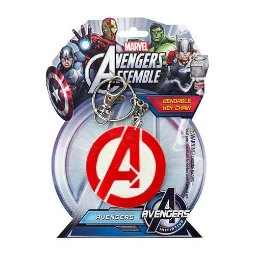 Avengers Logo 3-Inch Bendable Key Chain