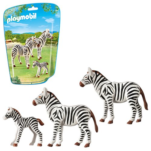 Playmobil 6641 Zebra Family