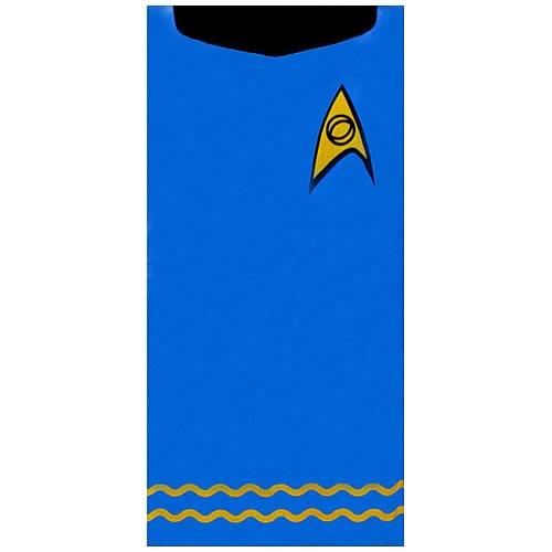 Star Trek Spock Blue Beach Towel